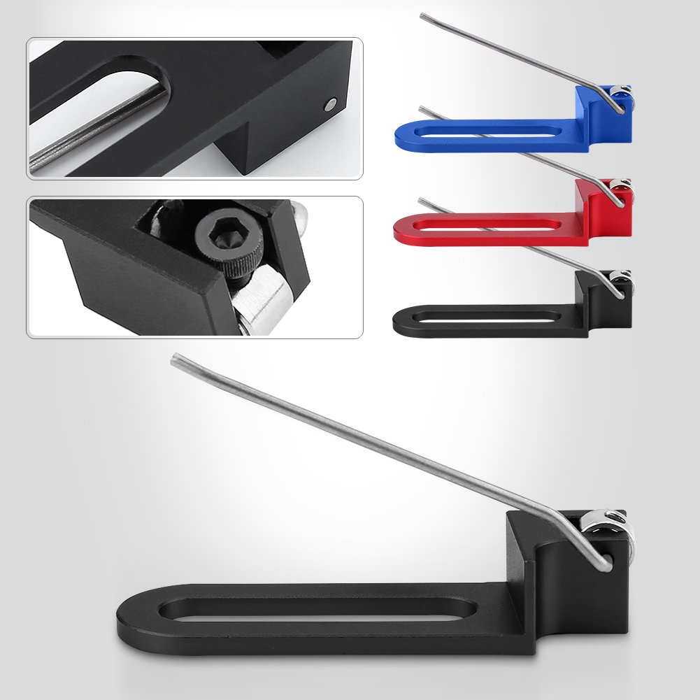 SolUptanisu Aluminum Magnetic Arrow Rest Professional Archery Recurve Bow Arrow Rest Special Rear Wire Magnetic Arrow Equipment for Right Hand