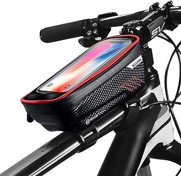GETECK Bolsa Bicicleta Impermeable,Soporte Bolsa Movil Bicicleta ...