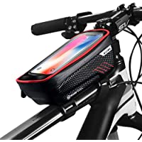 GETECK Bolsa Bicicleta Impermeable,Soporte Bolsa Movil Bicicleta Funda