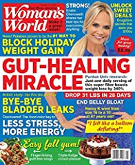 The warmhearted weekly magazine for busy women. Includes recipes, tips for organizing the home and much more.Woman's World magazine is one of the top lifestyle magazines in the world. With an emphasis on women's needs, each issue covers healt...