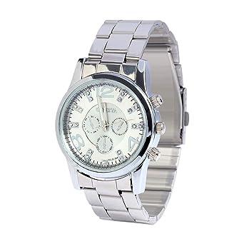 Reloj Ginebra Relojes Pulsera Mujer,con Circonta Esfera Grande ...
