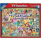 White Mountain Puzzles TV Families - 1000 Piece Jigsaw Puzzle