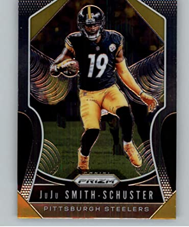 Juju Smith-Schuster Football Cards 3 Assorted Bundle Pittsburgh Steelers Trading Card Gift Set