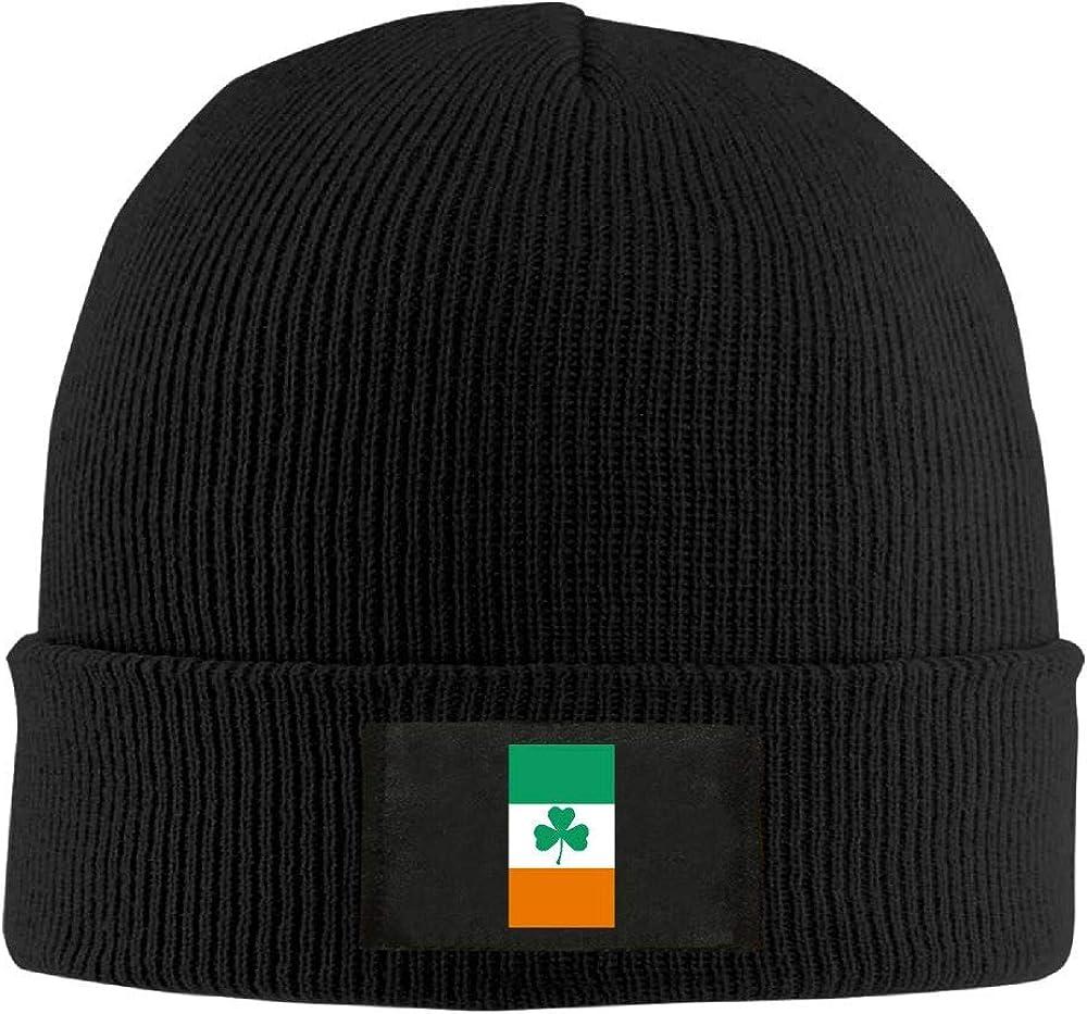 DLOAHJZH-Q Adult Unisex Irish Flag Clover Street Style Beanies