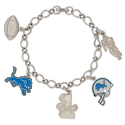 112cb82b NFL Detroit Lions 47521091 Bracelet with Charms Clamshell