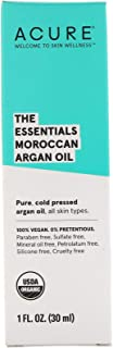 product image for Acure, (3 Pack) The Essentials Moroccan Argan Oil, 1 fl oz (30 ml)