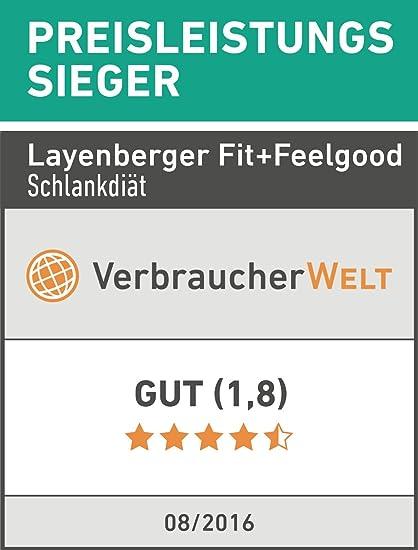 Layenberger Fit+Feelgood Slim Mahlzeitersatz Vanille-Sahne, 1er ...