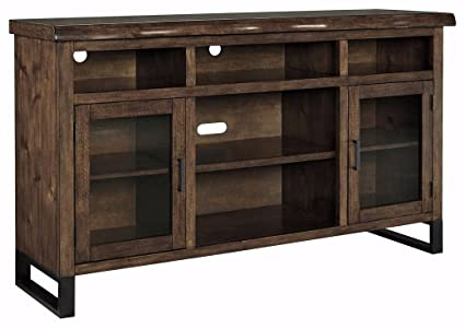 Amazon Com Signature Design By Ashley W815 48 Tv Stand With Open