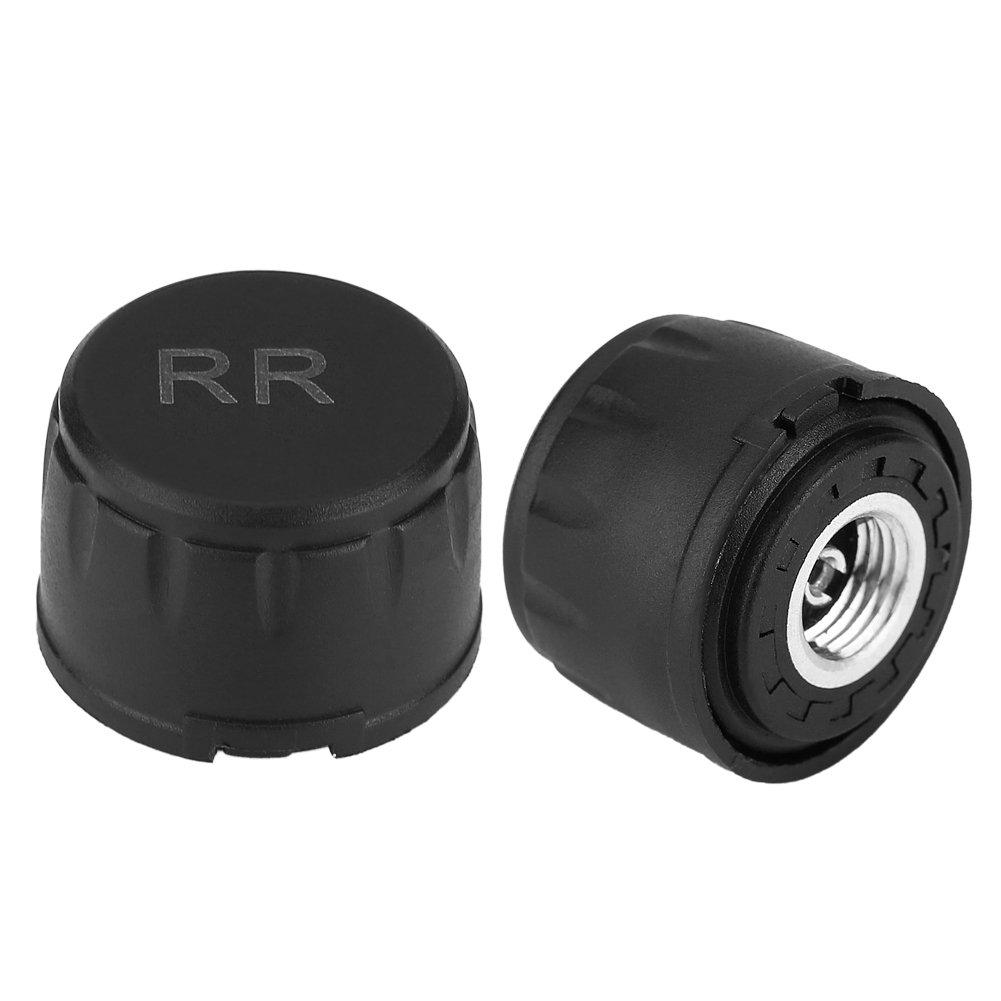 TW-RL Keenso Tire External Sensors 0-4.5Bar//65Psi Replacement for Tire Pressure Monitor System Car TPMS External Cap Sensors