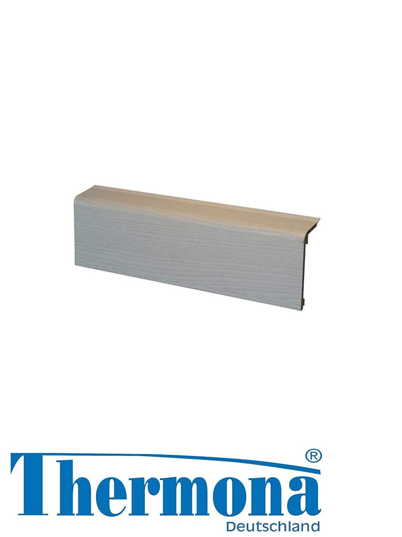 Graphit 2 Meter Sockelleisten HZ SLF 2000