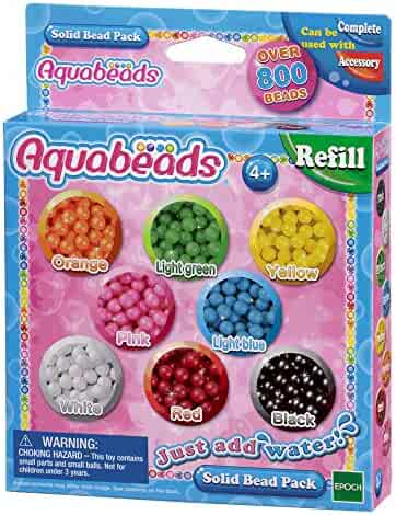 Aquabeads Solid Assorted Bead Pack