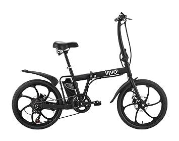 vivobike Fold vf20 – Bicicleta – Eléctrica – Plegable – 6-velocità – Diámetro