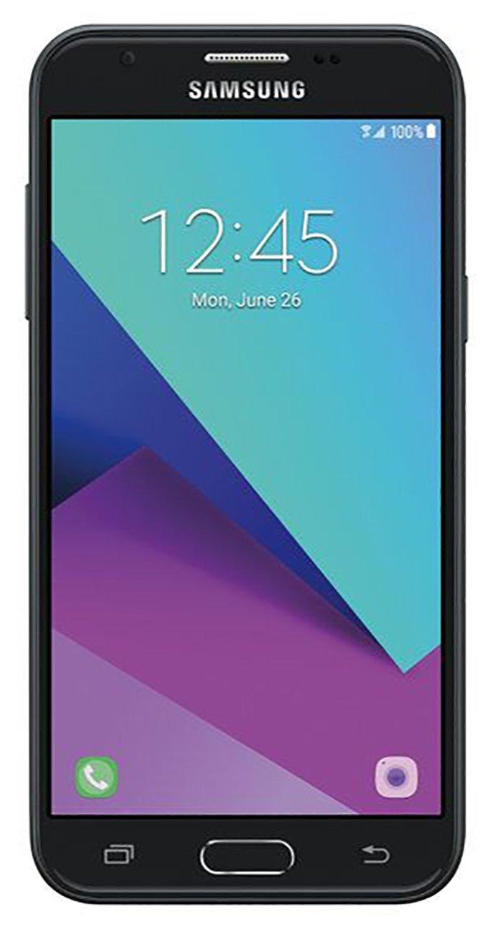 Samsung Galaxy Express Prime 2 2017 J327a / J3 Emerge 16GB Unlocked GSM 5'' HD Display Android Smartphone - Dark Gray