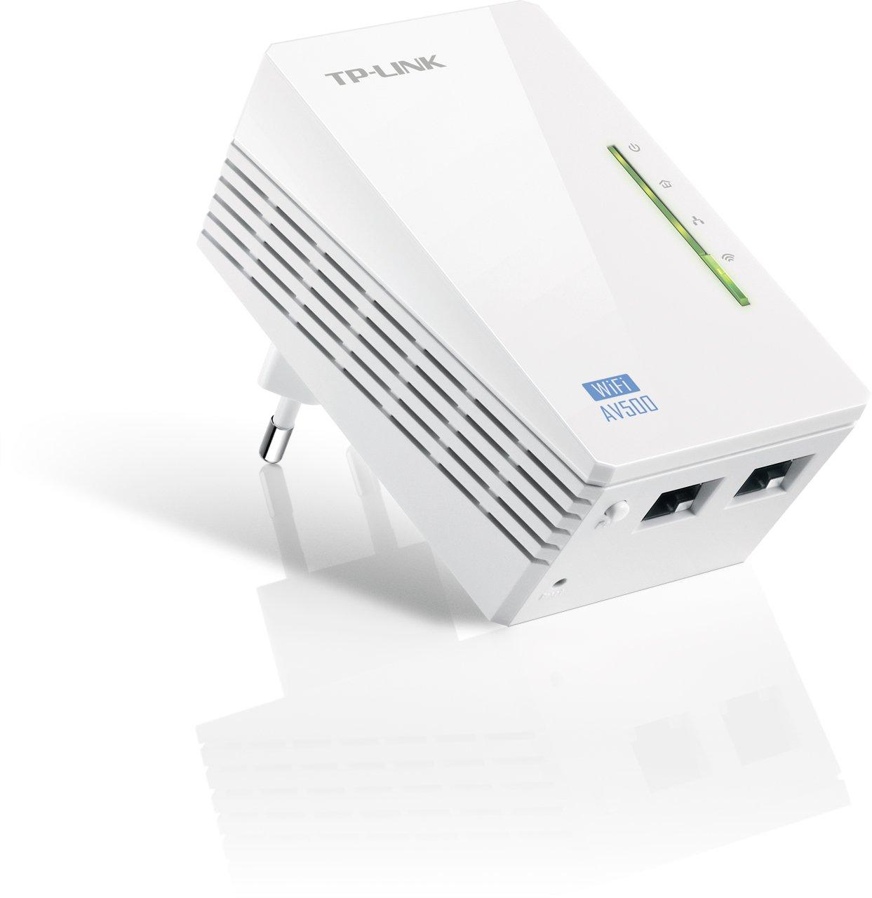 TP LINK TL WPA Extensor de red por línea eléctrica WiFi Mbps