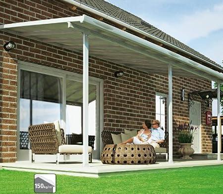 Tejado para terraza de alta calidad, de aluminio/veranda 550 x 300 ...