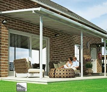 Hochwertige ALU Terrassenüberdachung/Veranda - 420 x 300 (BxT ...