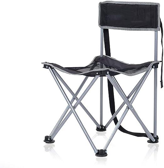 MDBLYJChaise longue Dossier extérieur pliant chaise tabouret