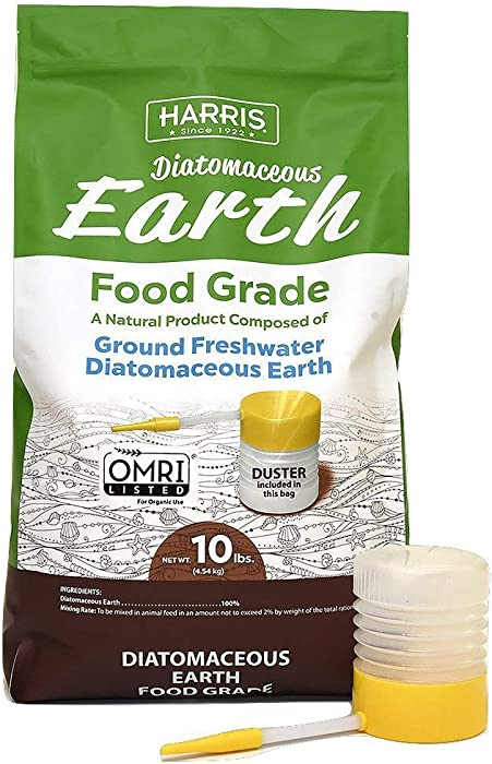 Top 8 Diatomaceous Earth Food Grade 25Lbs