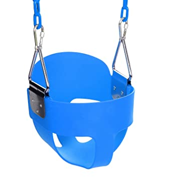 Outdoor Baby Swing >> Kids Bucket Swing Toddler Outdoor Baby Swing Seat 59 Chain