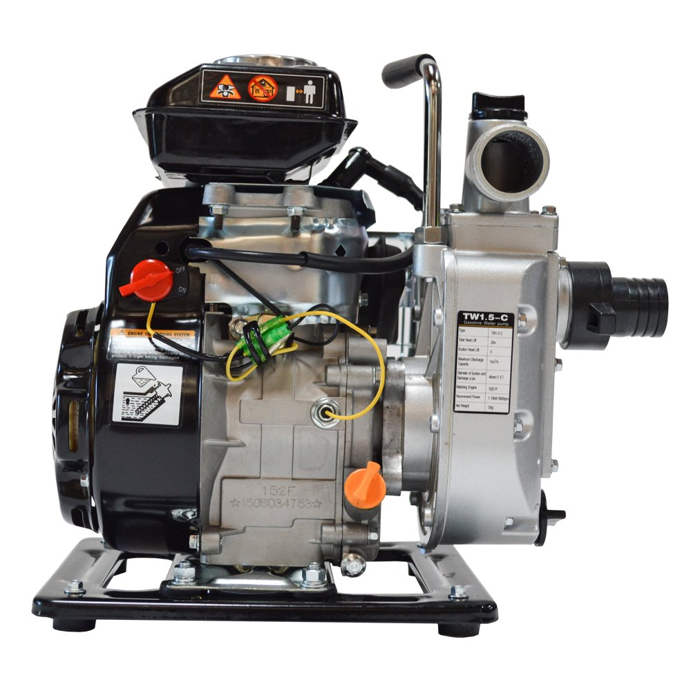 Tomahawk Power TW1.5 Gas 1.5'' Water Pump by Tomahawk Power (Image #2)