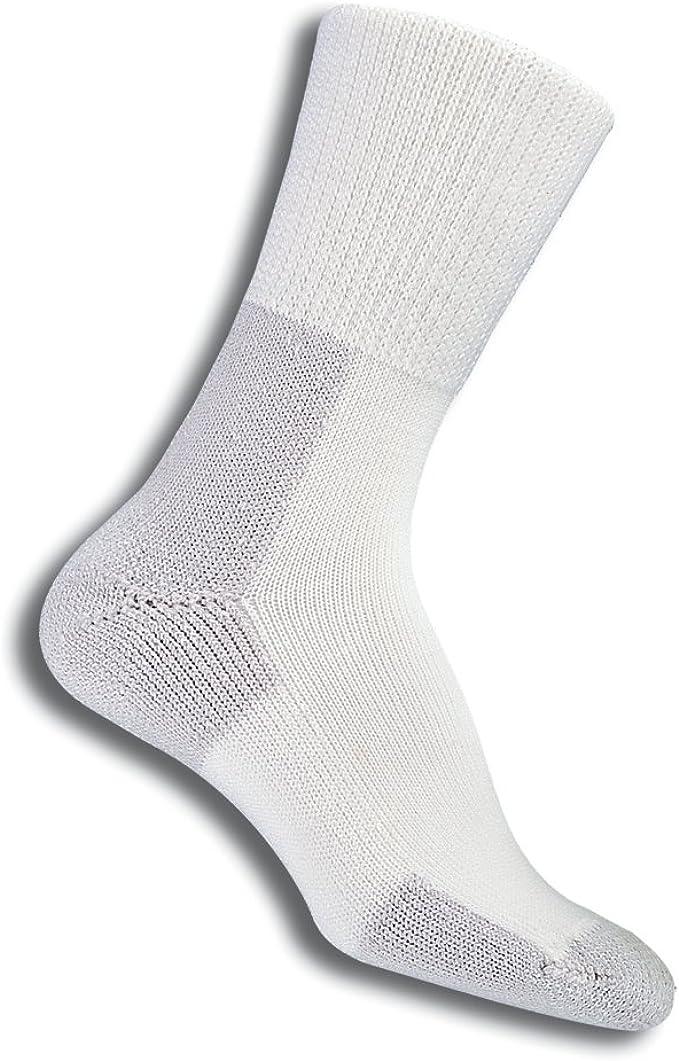 Thorlo Mens Thick Padded Hiking Socks 2 Pair Size M ~ New