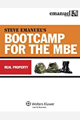 MBE Bootcamp: Property (Emanuel Bar Review) Paperback