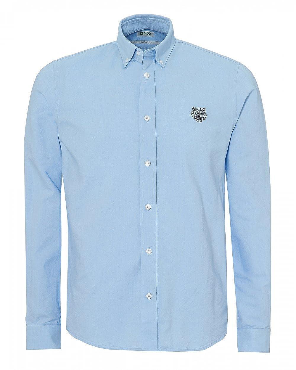 9391984060 Kenzo Mens Tiger Crest Slim Fit Shirt: Amazon.co.uk: Clothing