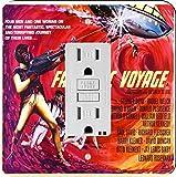 Rikki Knight 3709 Vintage Movie Posters Art Fantastic Voyage 4 Design Light Switch Plate