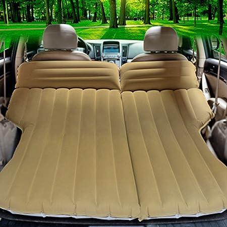 CYOUZHE Auto Aufblasbares Bett/Weiche Beflockung Campingmatten Urlaub Auto Zubehör Portable Falten 195 * 106Cm Empfohlen Empf