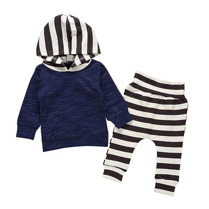 Amuse-MIUMIU - Conjunto de chándal para bebé con Capucha y ...