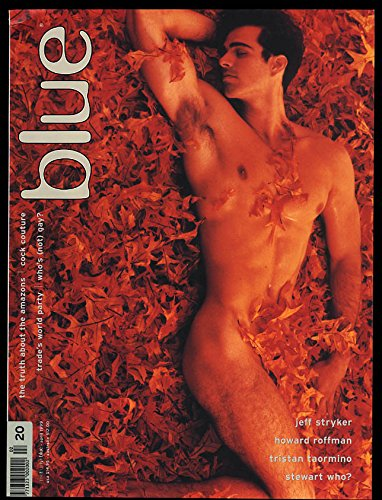 NOT ONLY BLUE Gay male erotica #20 4 1999 Jeff Stryker Roffman Taormino + (Best Of Jeff Stryker)