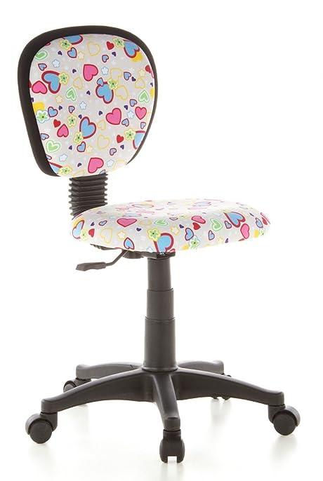 hjh OFFICE 670170 chaise de bureau enfant chaise enfant KIDDY TOP