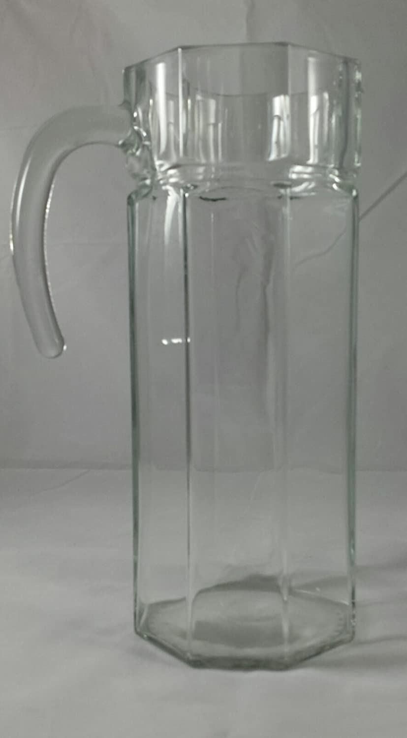 France 18 Vintage Arcoroc French Octime Octagon Clear Glass