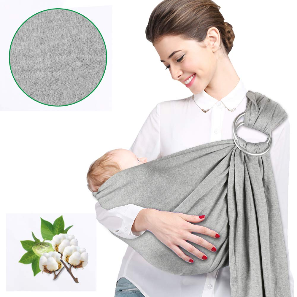 Atomcool Ring Sling Baby Carrier Soft Breathable Cotton Baby Sling