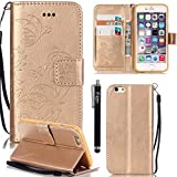 iPhone 7 Leather Case,7 Phone Case,iPhone 7 Case,Flidm iPhone 7 PU Leather Wallet Case Protective Flip Stand Cover for iPhone 7#001