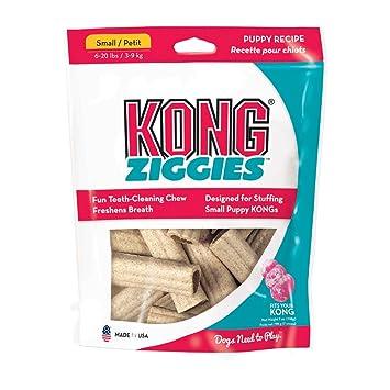 Kong Cachorro Stuff n ziggies pequeño perro tratar, 7-ounce