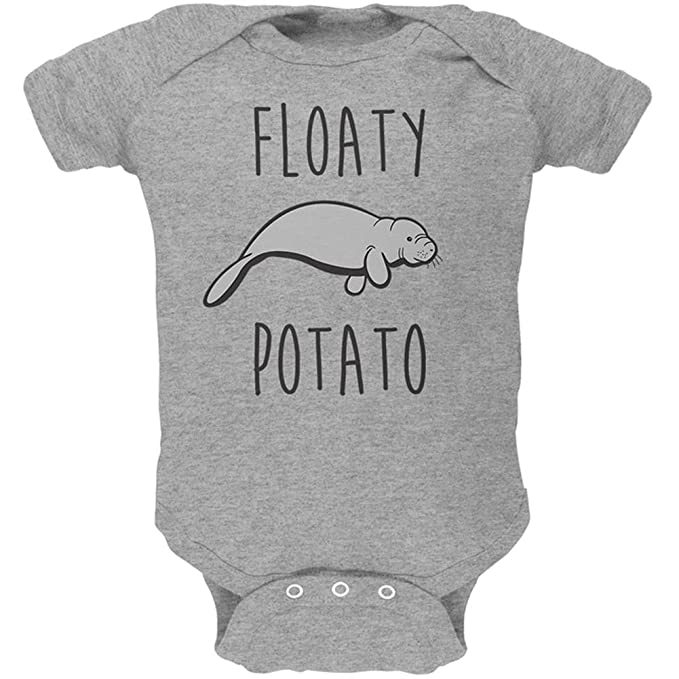 Amazon.com: Old Glory Floaty patatas Manatí suave para bebé ...