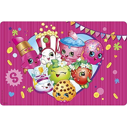 Zak Designs Shopkins Placemat, 17.6 by 11.3, Multicolor