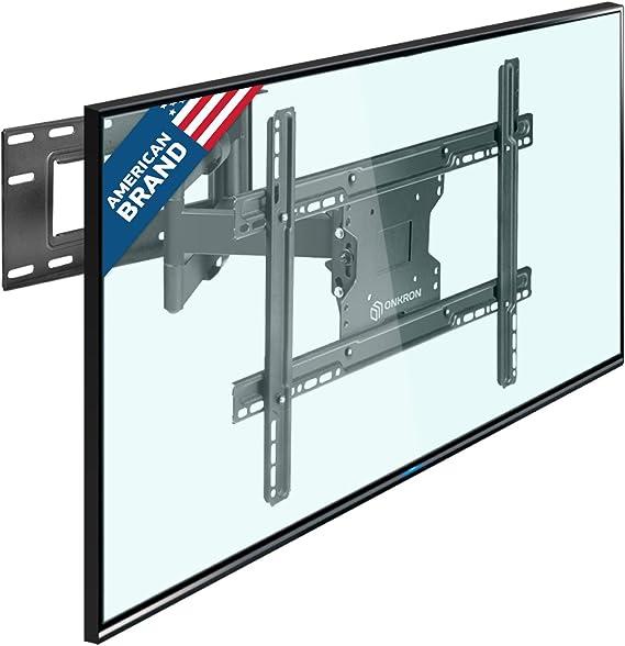 ONKRON Soporte Universal de pared giratorio para TV curvado, giratorio, inclinable M7L 4K OLED LED de pantalla plana de 40-60 pulgadas Pulgada / VESA 200x100 600x400 / Cable HDMI / Negro: Amazon.es: Electrónica
