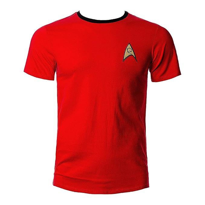 Star Trek Uniforme de la Camiseta de Scotty/ – Camiseta de Ingeniería