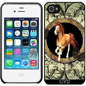 Funda para Iphone 4/4S - Caballo by nicky2342
