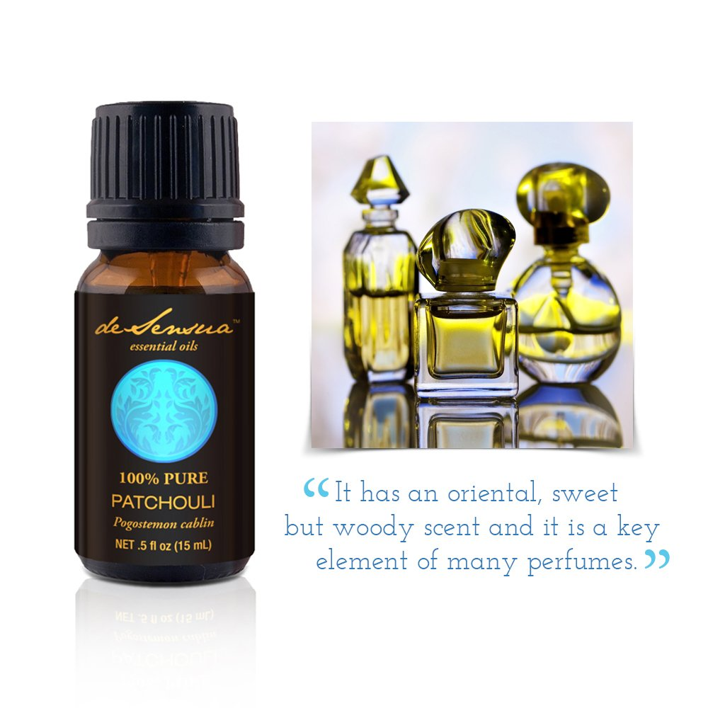 Patchouli Essential Oil, Reserve Select (Dark) - 100% Pure, 15 ml