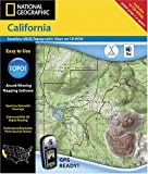 Search : National Geographic TOPO! California Map CD-ROM (Mac)