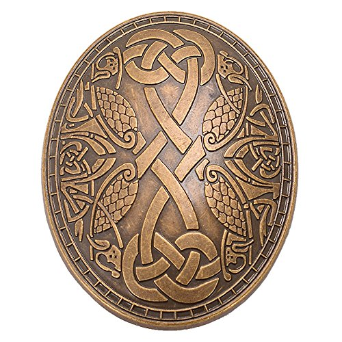 GRACEART Medieval Viking Brooch (1 X (One Piece Clasp)