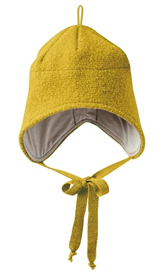 5a41c375bfb Disana Baby Girls  Organic Boiled Wool Hat Organic Cotton Lining (Size 2 –  46