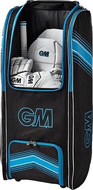 1aec78960a9 Gunn   Moore 4177 Original Wheelie Duffle Cricket Sports Team Kit Bag  Black blue