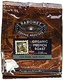 baronet coffee pods - Baronet Coffee Fair Trade Organic French Roast Coffee Pods, 54 Count