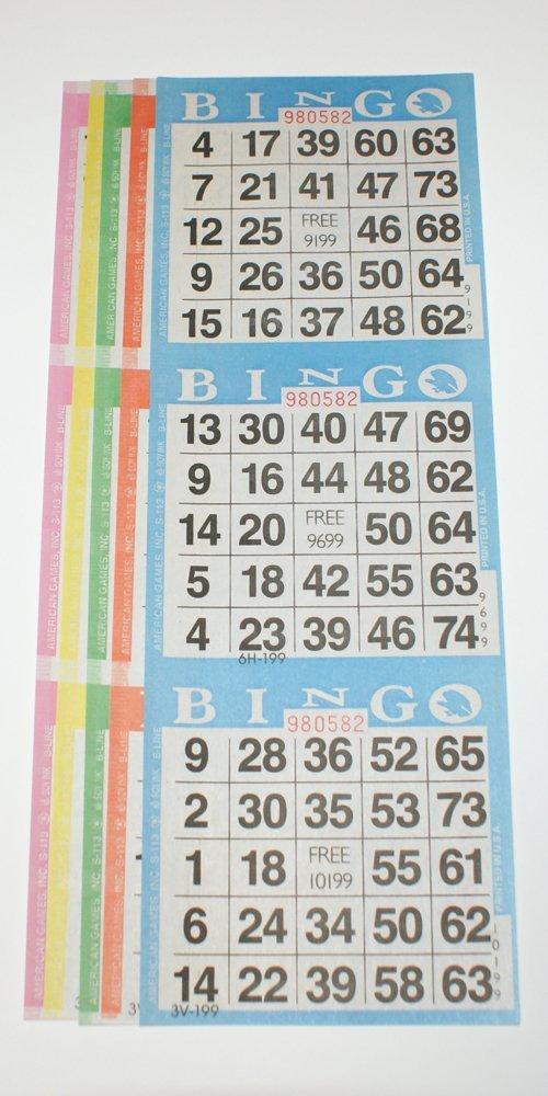 新作モデル (125 Books-1875 Cards cards) - - B01FYNJCU6 Bingo Paper Cards - 3 Cards - 5 Sheets - 125 Packs of 5 Sheets - 1875 Cards B01FYNJCU6, ブライダルインナー ブルースター:af8e89c0 --- arianechie.dominiotemporario.com