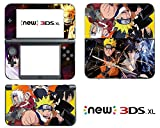 Vanknight Vinyl Decals Skin Sticker Anime Naruto Boruto Uzumaki for the New Nintendo 3DS XL 2015