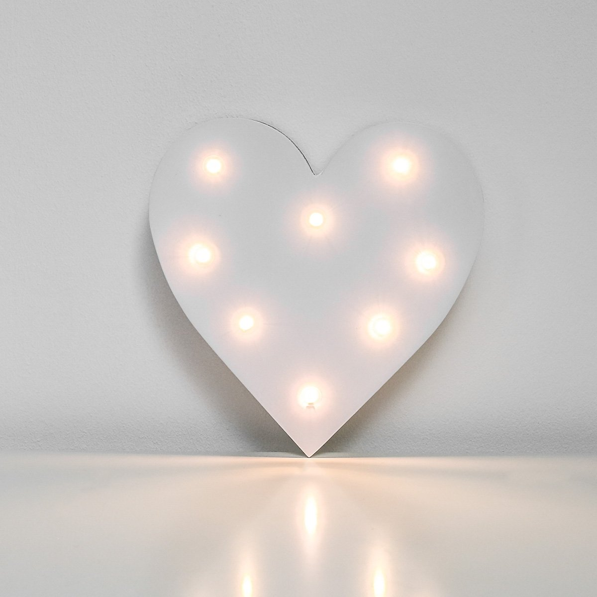 Festive Lights Light Up Letters - Warm White LEDs - Battery Operated - 16cm by (A)